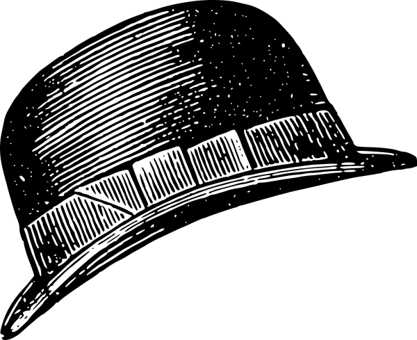 Brown Hat PNG Clip art