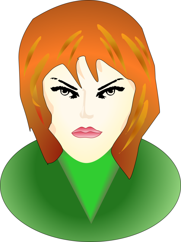 Angry Brown Boy PNG Clip art