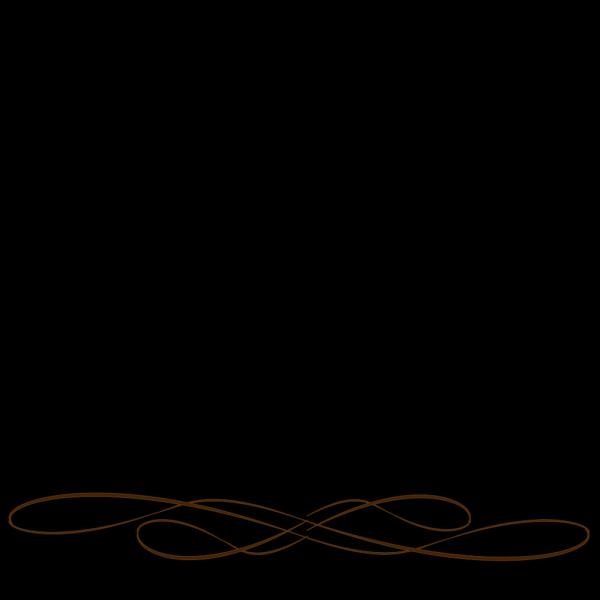 Elegant Flourish PNG Clip art