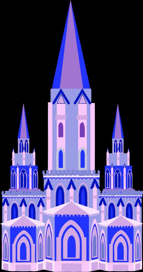Brown Castle PNG Clip art