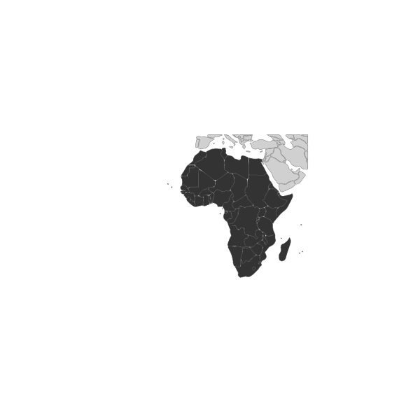 Africa Continent PNG Clip art