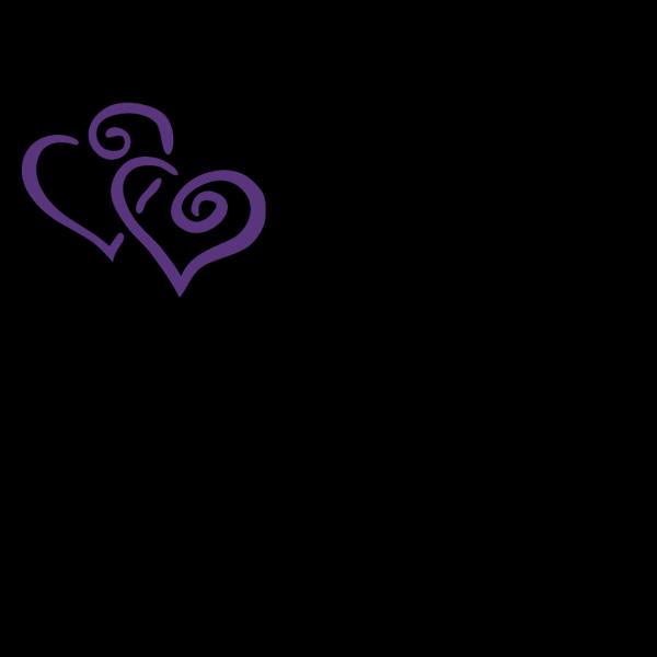 Heartsandswirl PNG Clip art