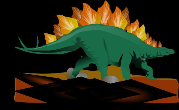 Brown Dinosaur PNG Clip art