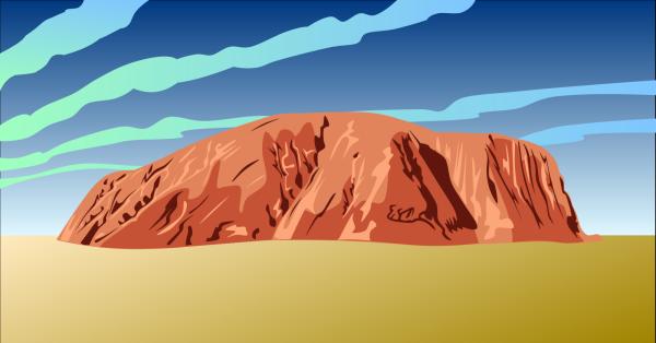 Australian Rock PNG Clip art