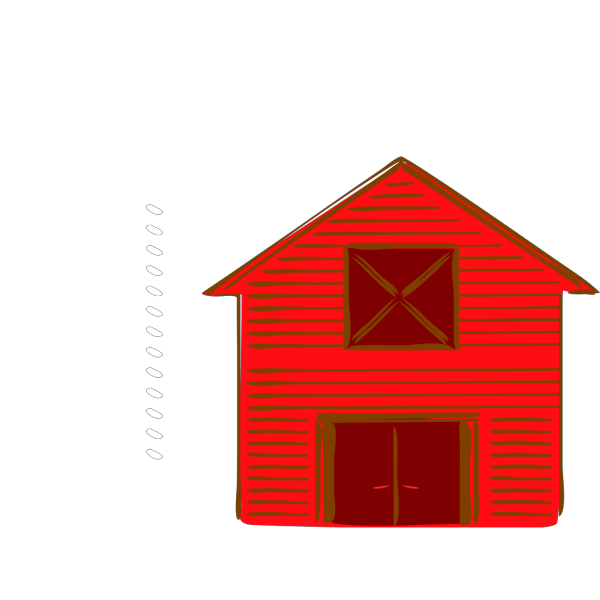 Red Barn PNG Clip art