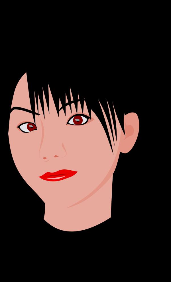 Brunette Teenager PNG Clip art
