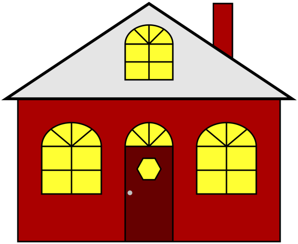 Brown House The PNG clipart
