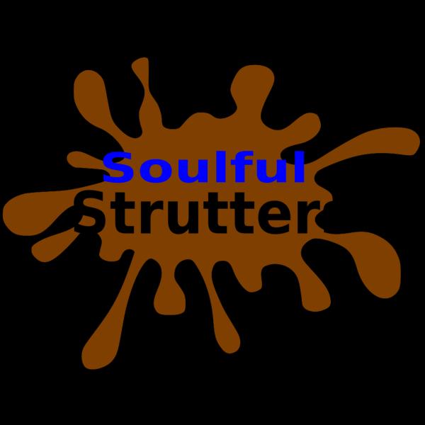 Brown Splatter Mud Hero PNG Clip art