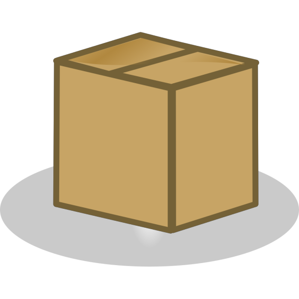 Closed Box PNG Clip art