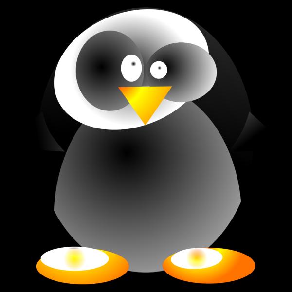 Crazy Penguin PNG Clip art