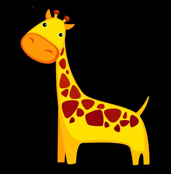 Brown Giraffe PNG Clip art