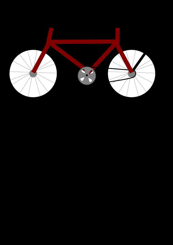 Bike Brown PNG Clip art