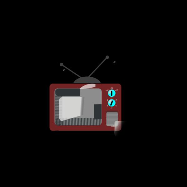Tv Brown Clipart2 PNG Clip art
