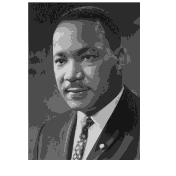 Martin Luther King Jr. PNG image
