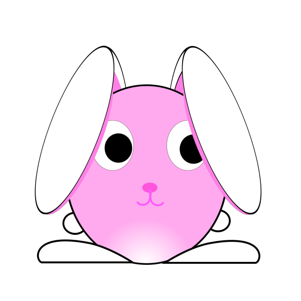 Brown Rabbit PNG Clip art