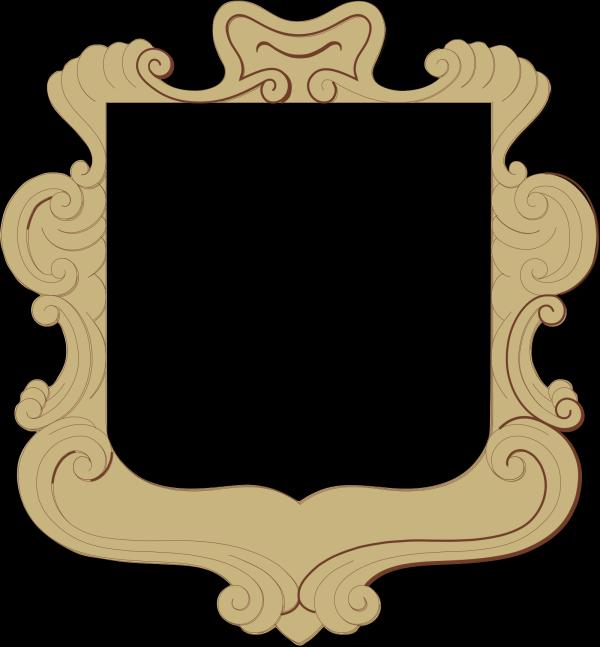 Brown Circle Frame Braid PNG Clip art