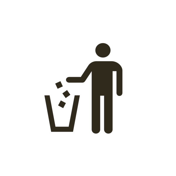 Garbage Can Icon PNG Clip art