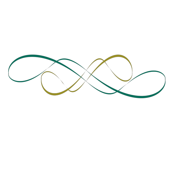 Swirl Design Teal PNG Clip art