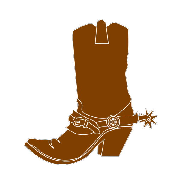 Cowgirl Hat And Boot PNG Clip art