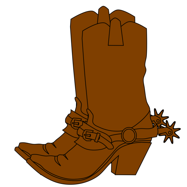 Brown Pirate Boots PNG Clip art