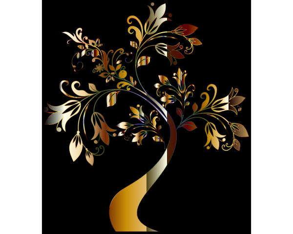 Floral Monogram PNG Clip art