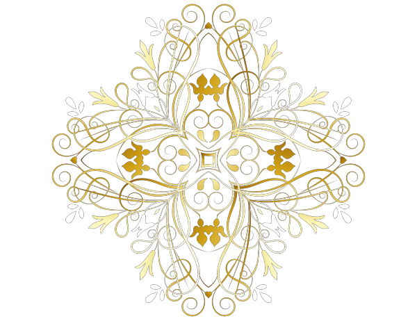 Floral Swirl PNG Clip art