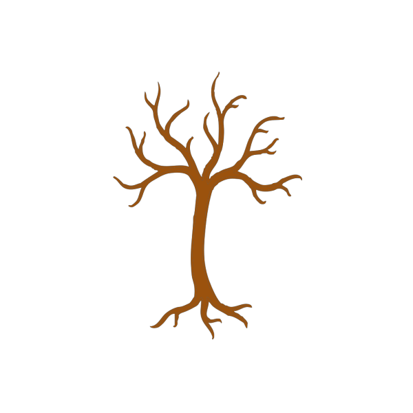 Brown Tree Outline PNG icons