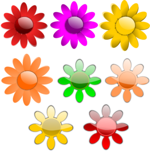 Flowers In A Vase 2 PNG Clip art