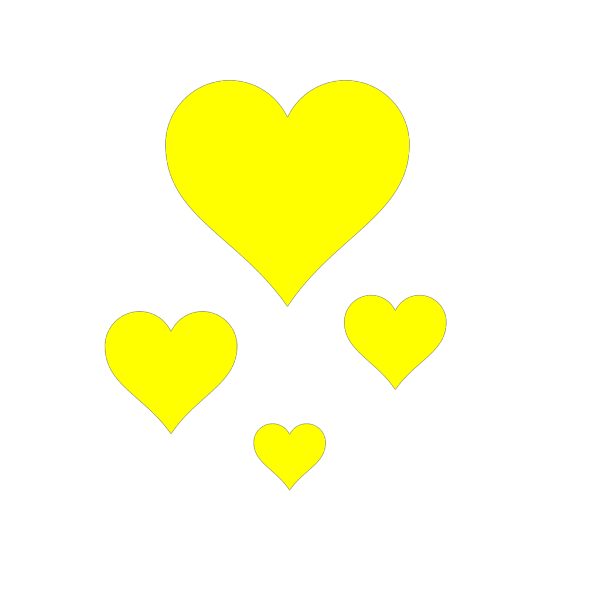Deep Brown Hearts PNG Clip art