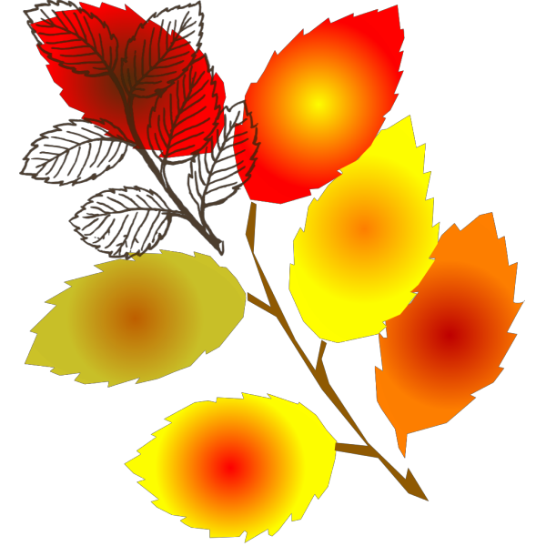 Brown Autumn Leaf PNG Clip art