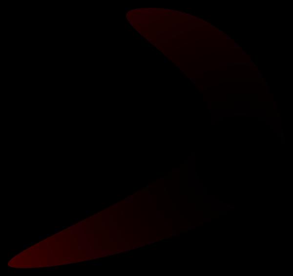 Brown Boomerang PNG icon