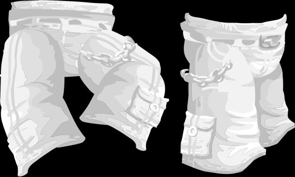 Brown Pants PNG Clip art