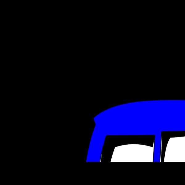 Blue Bus PNG images