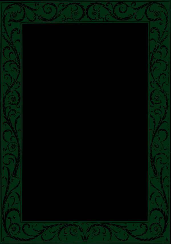 Brown Circle Frame Green PNG Clip art