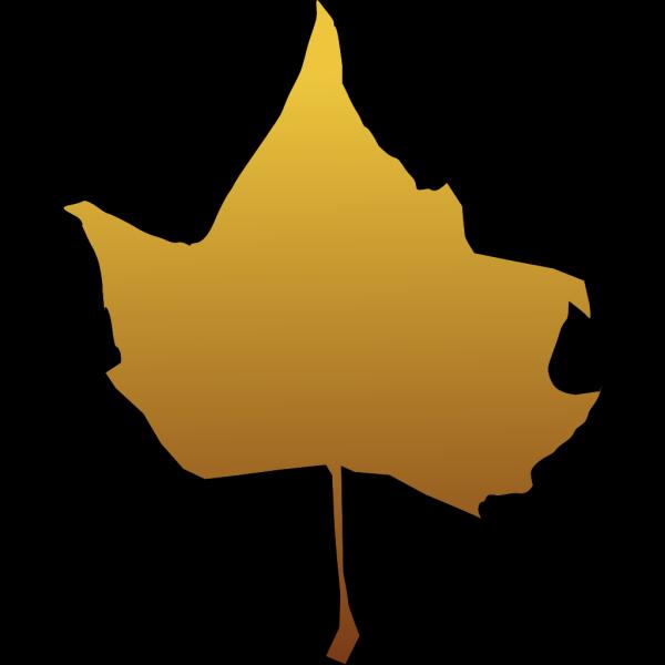 Brown Maple Leaf PNG Clip art