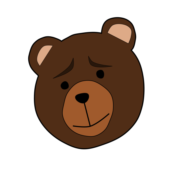 Concerned Bear PNG Clip art
