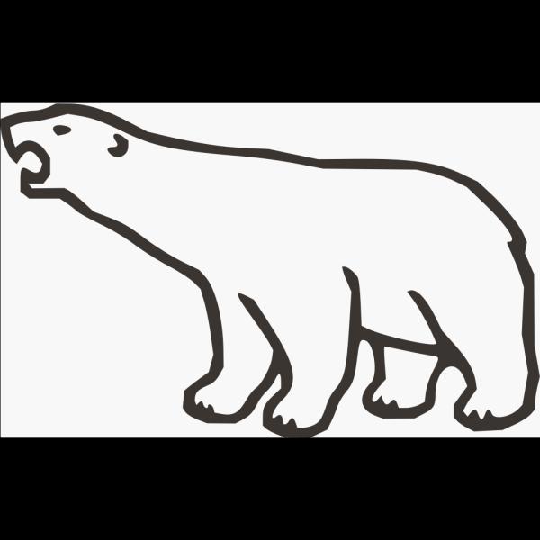 Polar Bear Brown PNG Clip art