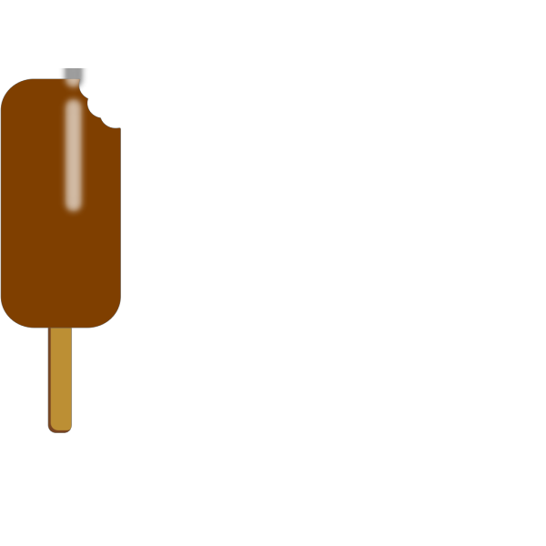 Chocolate Popsicle PNG Clip art