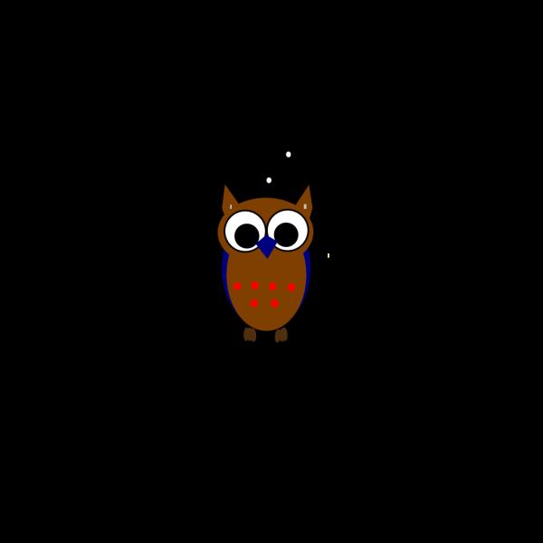 Cute Pink Owl 2 PNG Clip art