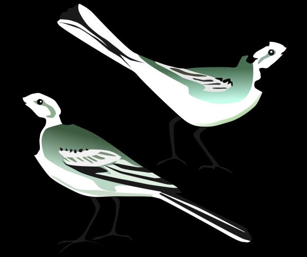 Love Birds Brown PNG Clip art