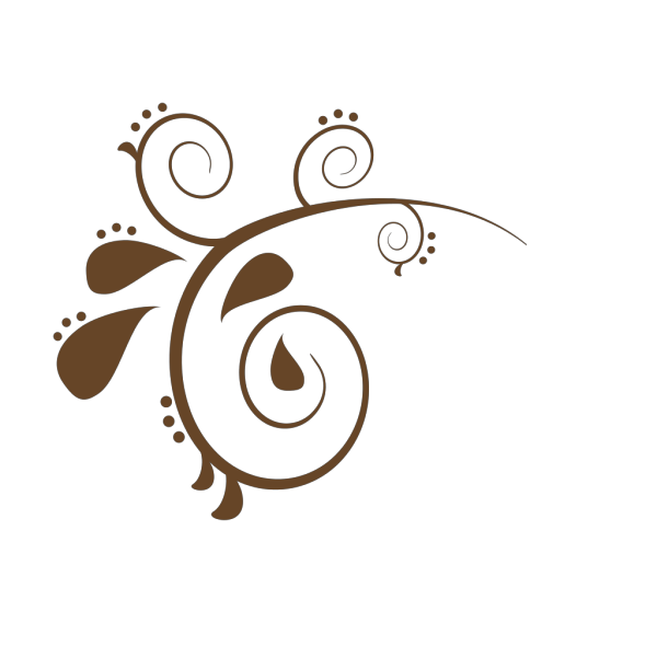 Brown Swirl  PNG Clip art