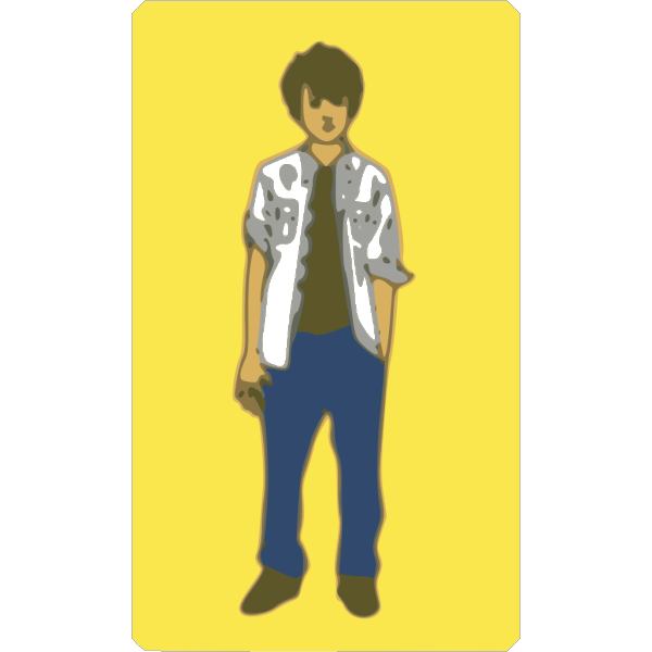 Male Teenager PNG Clip art