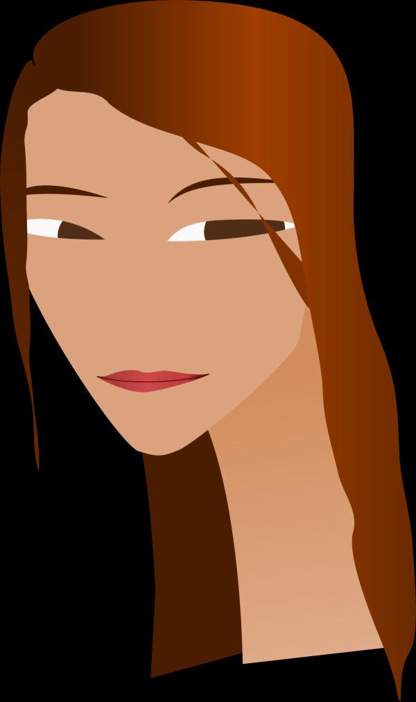 Plain Brown Hair PNG Clip art