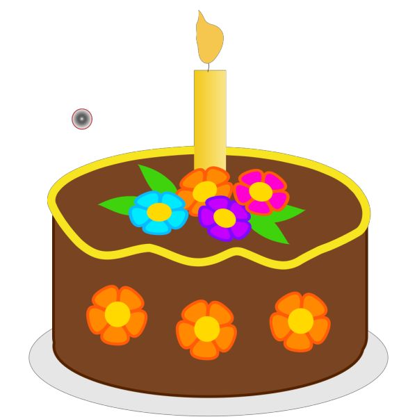 Chocolate Birthday Cake PNG Clip art