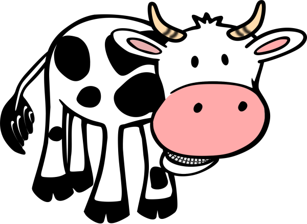 Brown Patch Cow PNG Clip art