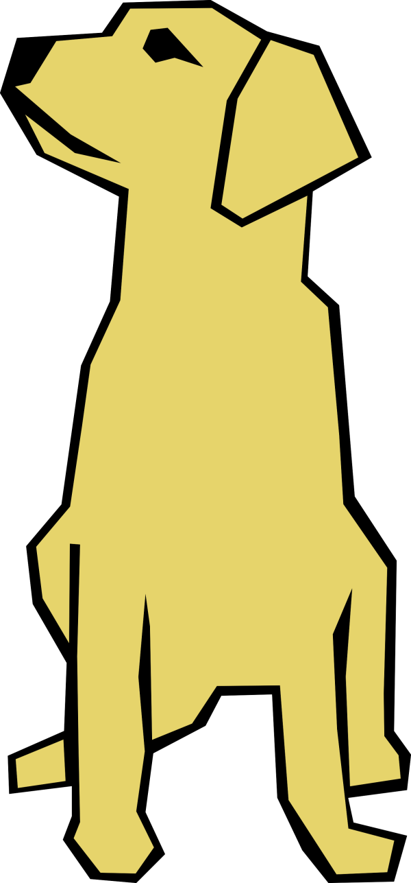 Dog Black Brown Ear Paw PNG Clip art