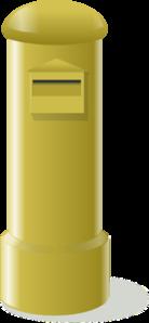 Brown Mailbox PNG Clip art