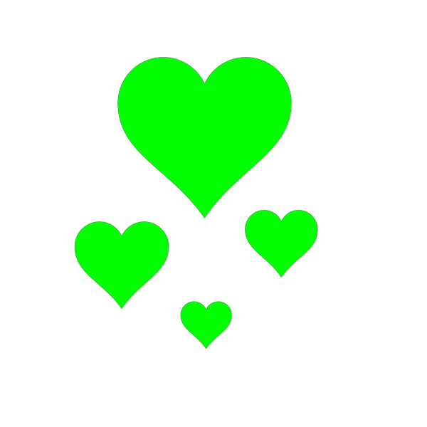 Brown Vine Heartss PNG Clip art