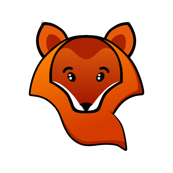 Brown The Fox PNG Clip art