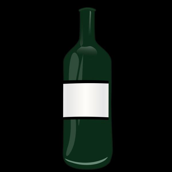 Brown Wine Bottle PNG Clip art